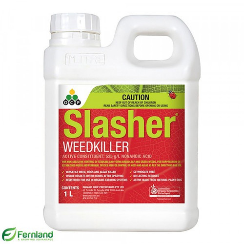 Slasher Organic Weed Killer (Nonanoic Acid) - 1L