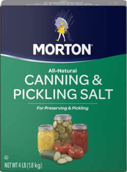 Morton's All Natural Canning and Pickling Salt (4 lbs)