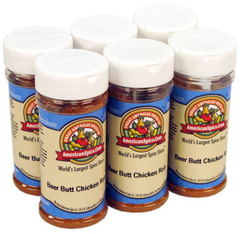 Beer Butt Chicken Rub Six Pack