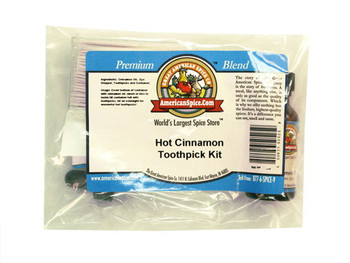 Hot Cinnamon Toothpick Kit