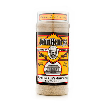 John Henry's Papa Charlie's Greek Rub