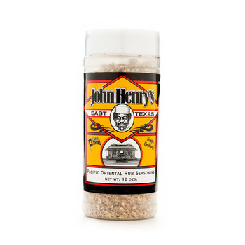 John Henry's Pacific Oriental Rub Seasoning