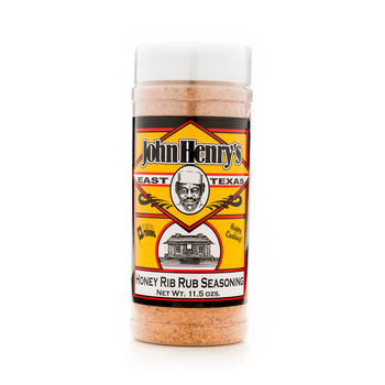 John Henry's Honey Rib Rub Seasoning