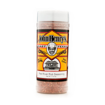 John Henry's Red River Rub Seasoning