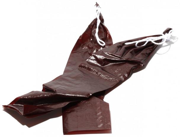"""1.5 x15"""" Mahogany Fibrous Casings - Bag of 20"""