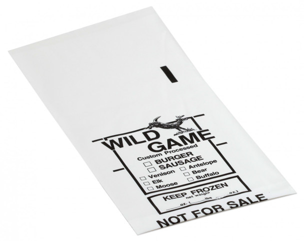 Wild Game Poly Meat Bags - 2# of Meat