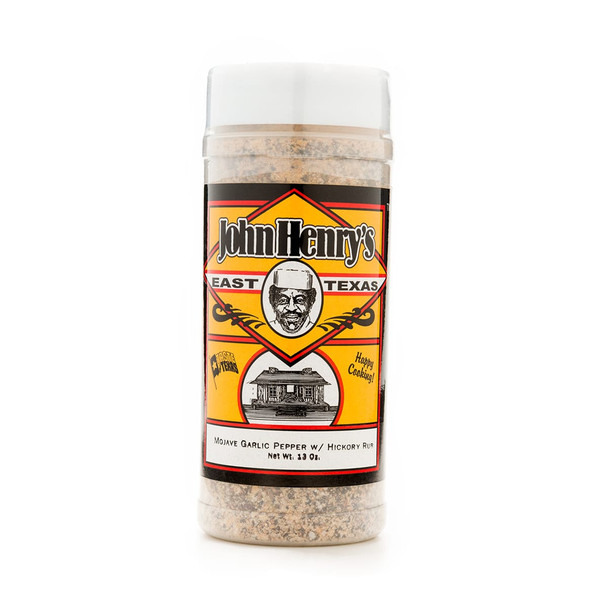 John Henry's Mojave Garlic Pepper with Hickory Rub
