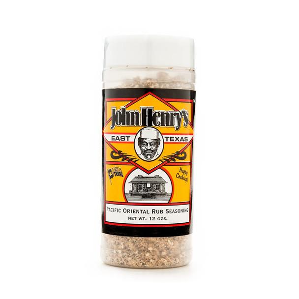 John Henry's Pacific Oriental Rub Seasoning