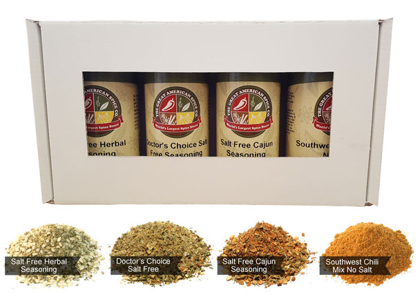 Salt Free Seasoning Kit