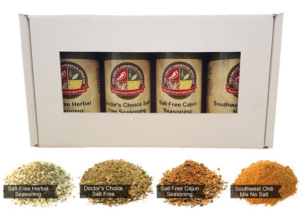 Salt Free Seasoning Kit