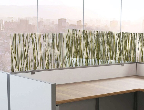Cubicle wall extensions Décor Version