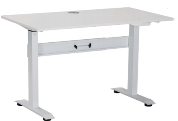 The Sudo Series pneumatic desks are a sleek and economical addition to any work or home office.  Series  Pneumatic Desk 2