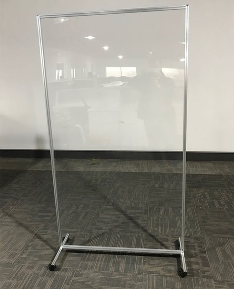 Office Space or Room Partition Divider With Wheels