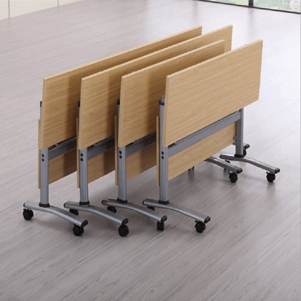 Foldable Table Tops for Corporate Training rooms or School Classroom - Stacked