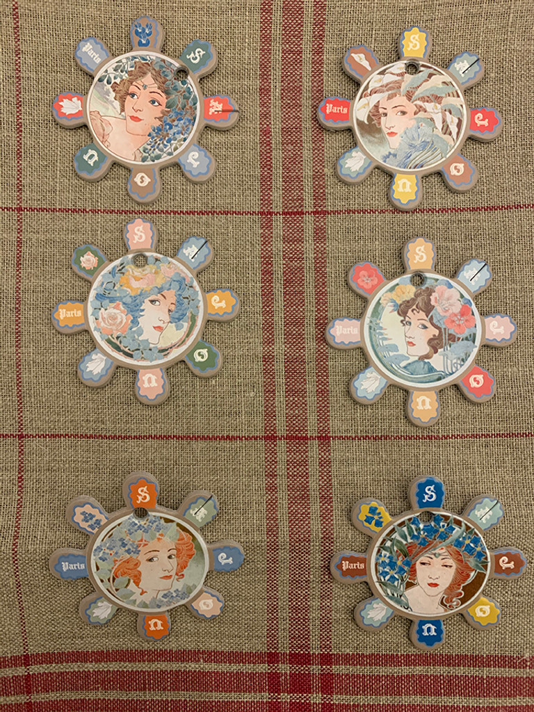 Barfleur Thread Cards - Women's Portraits