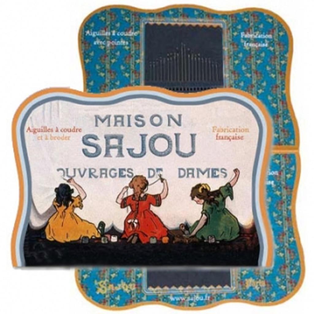 Vintage Needle Folding Card - Crozon
