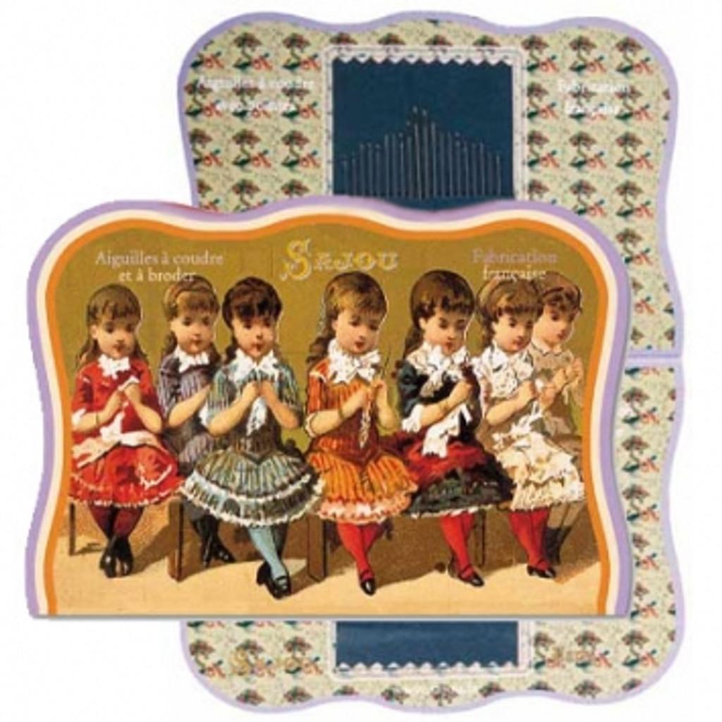 Vintage Needle Folding Card - Plyben