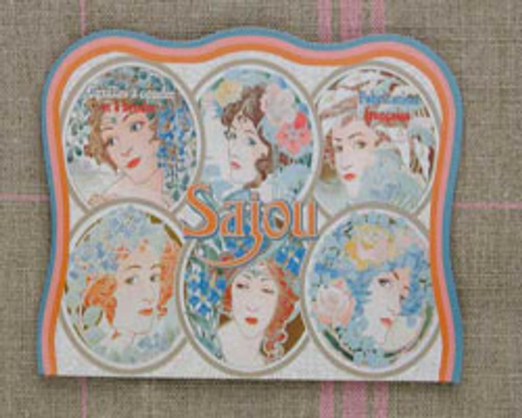 Vintage Needle Folding Card - Mellac