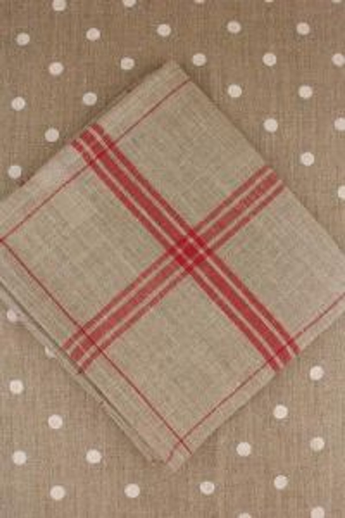 Cherry French Linen Tea Towels