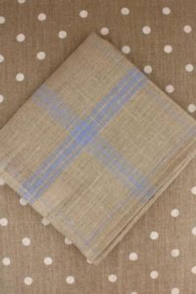 Sky Blue French Linen Tea Towels