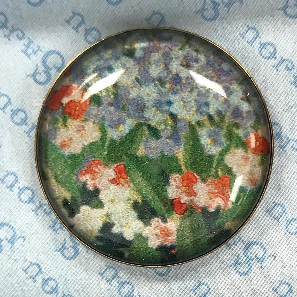 Set of  Six Flower Buttons