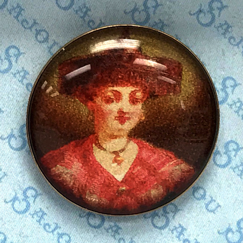 Set of Six Traditional French Costume Buttons