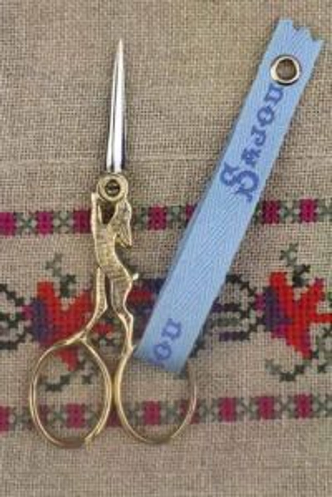 Hare Scissors - Gilded Handle