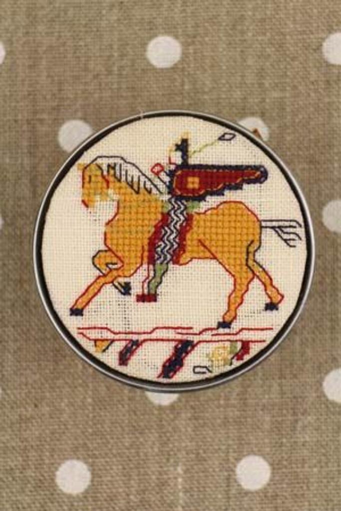 Sajou Cross Stitch Kit - Cavalier Pattern - Box to Embroider