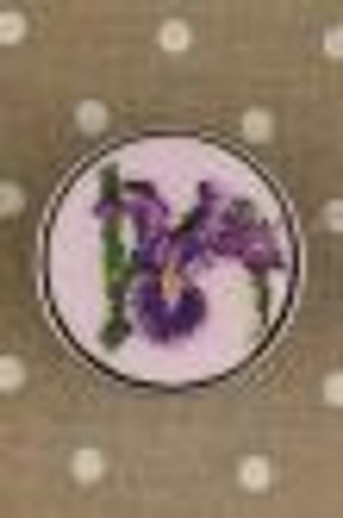 Sajou Cross Stitch Kit - Iris - Box to Embroider