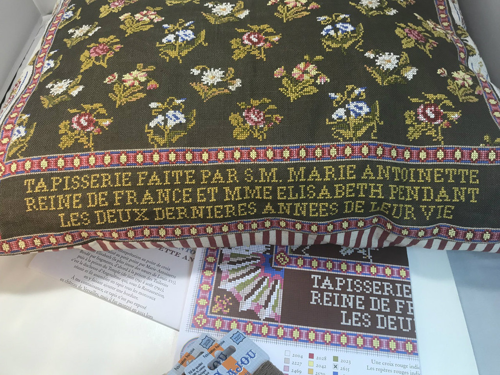 Marie Antoinette & Mme Elisabeth Tapestry Cross Stitch Cushion Kit
