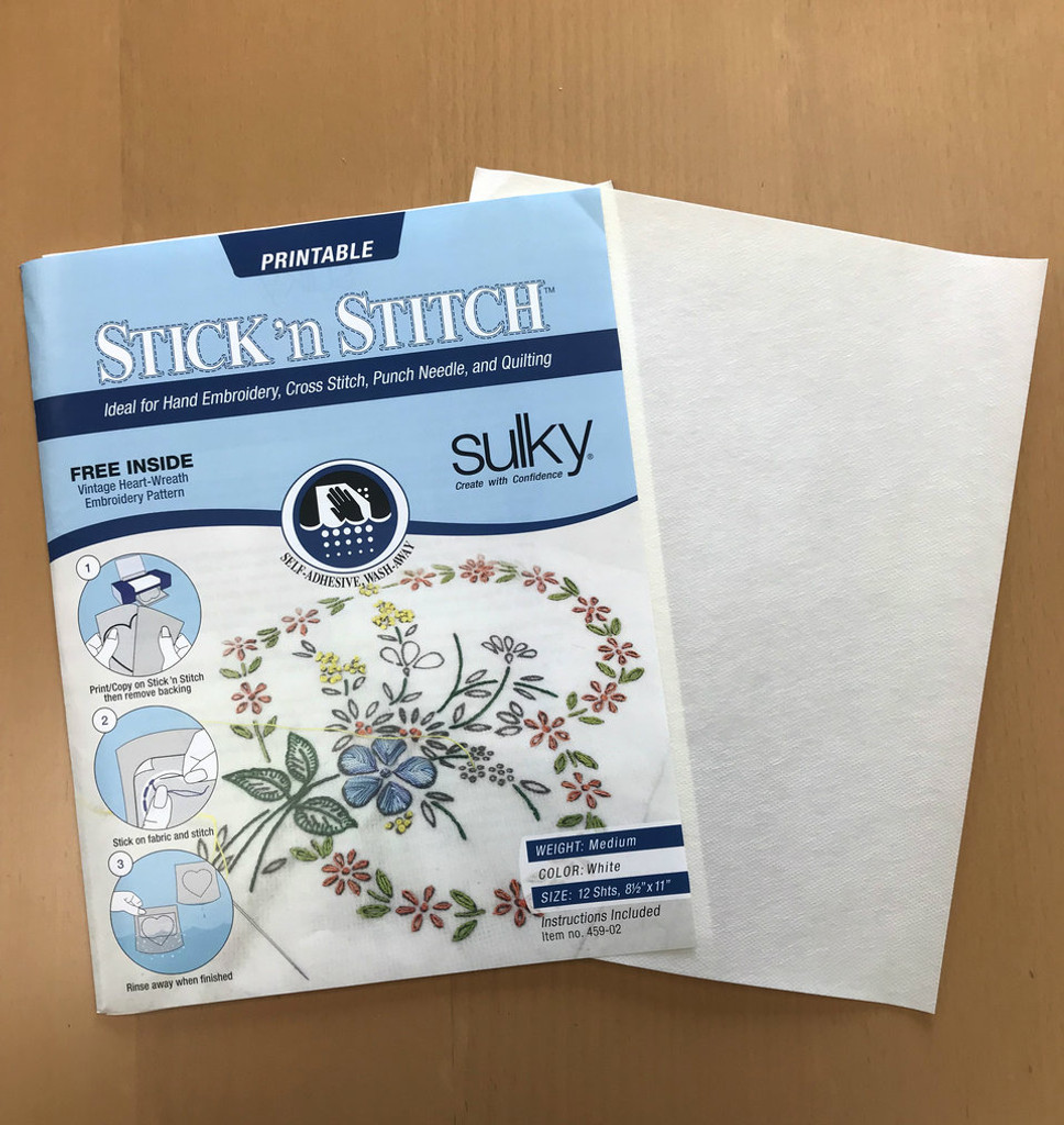 Stick 'n Stitch - 12 sheets per package