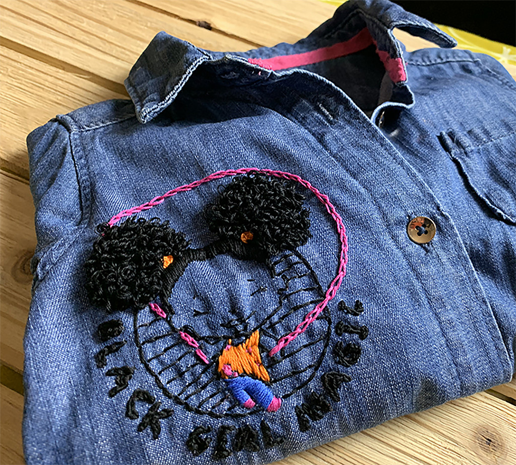 GG Embroidery Collection - Black Girl Magic