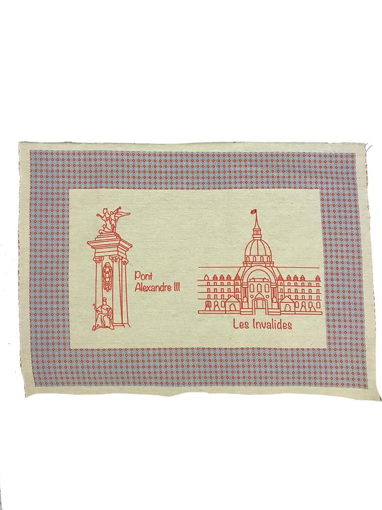 Paris Monuments Place Mats -  Series 2