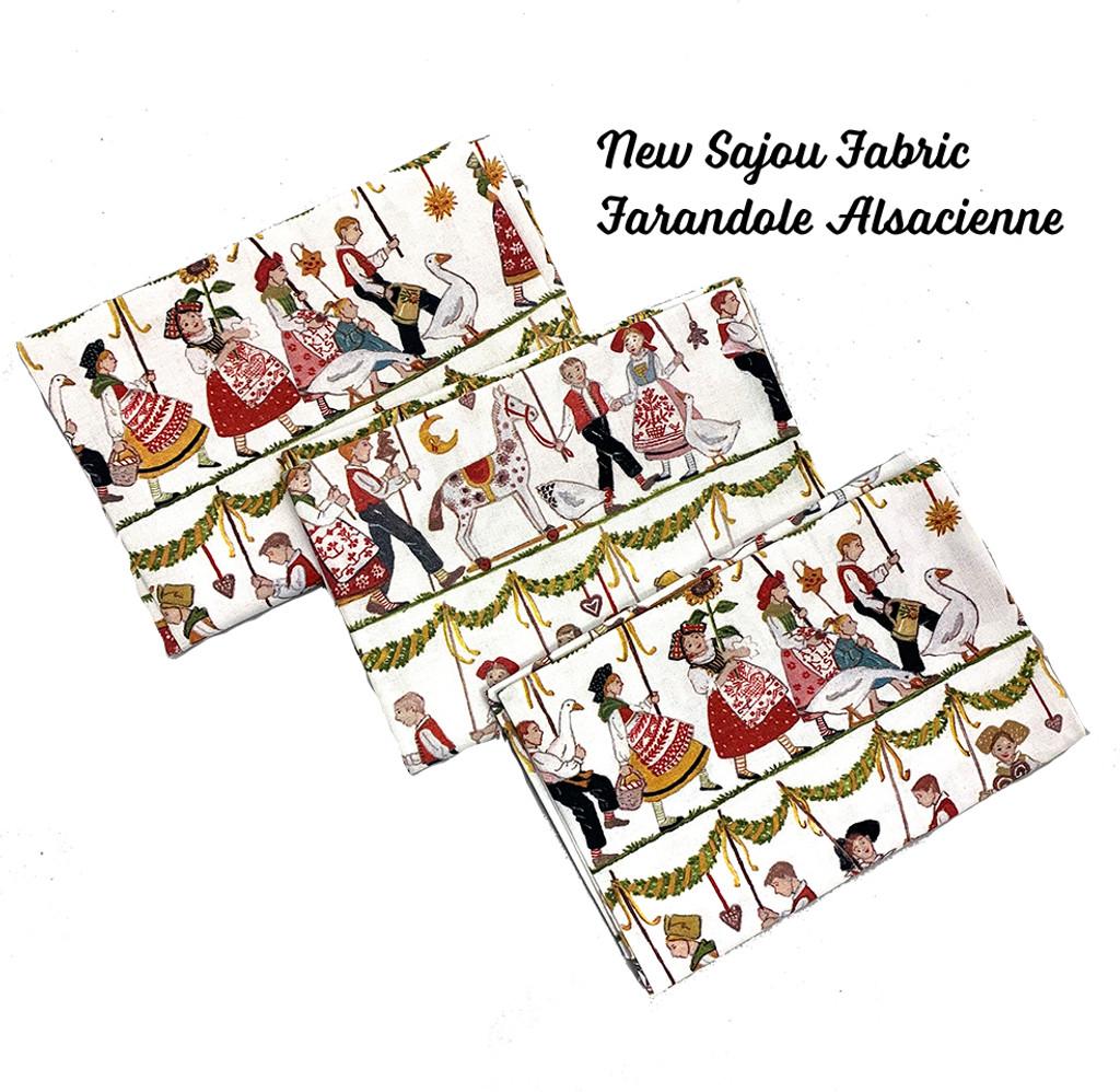 Printed Fat Quarters from Maison Sajou