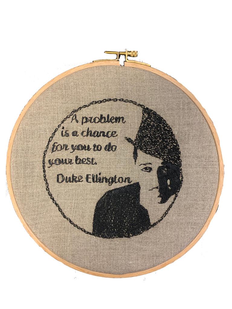 Wisdom Embroidery Kit - Duke Ellington