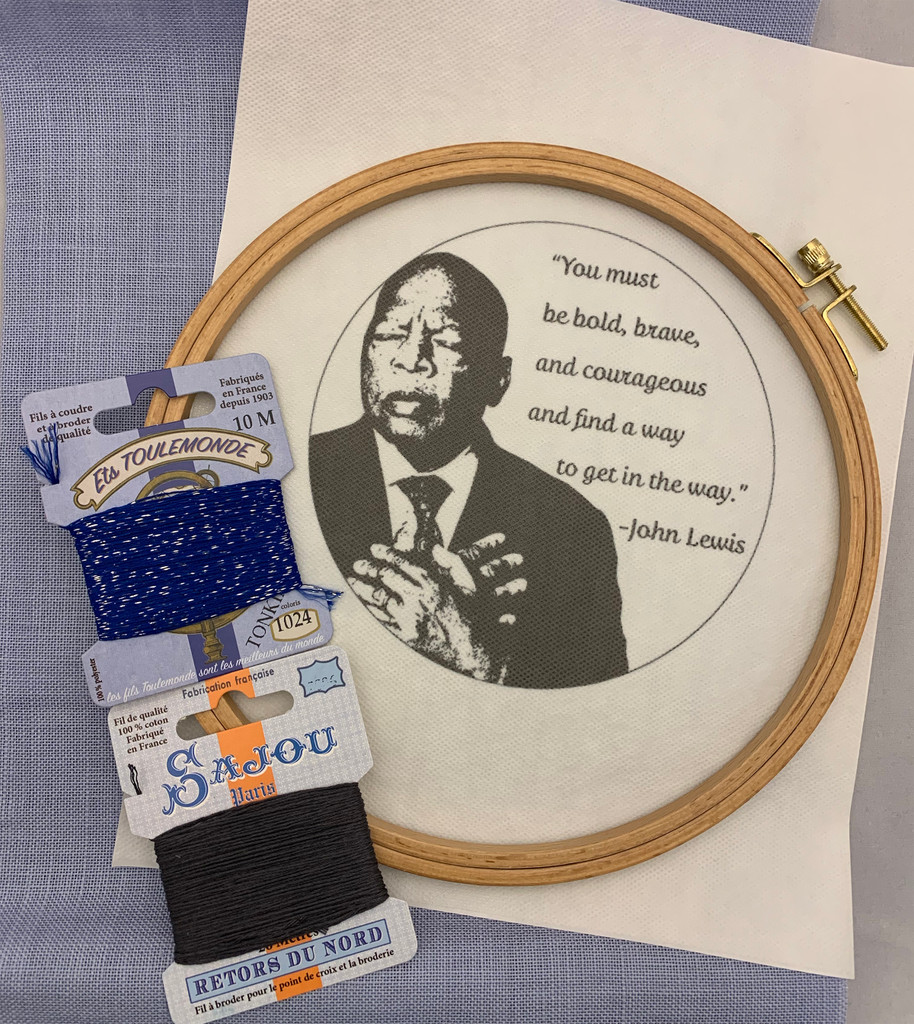 Wisdom Embroidery Kit - John Lewis
