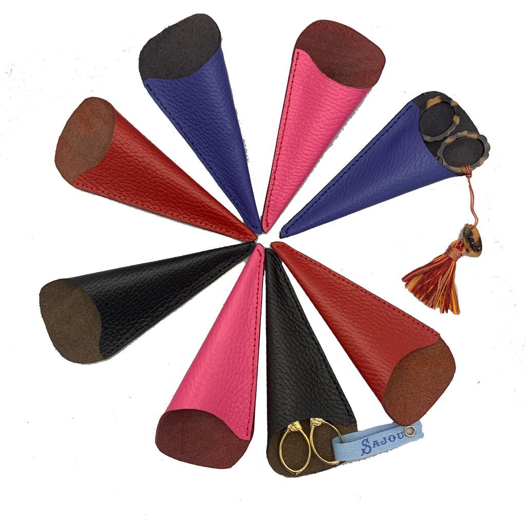 Leather Scissor Shield