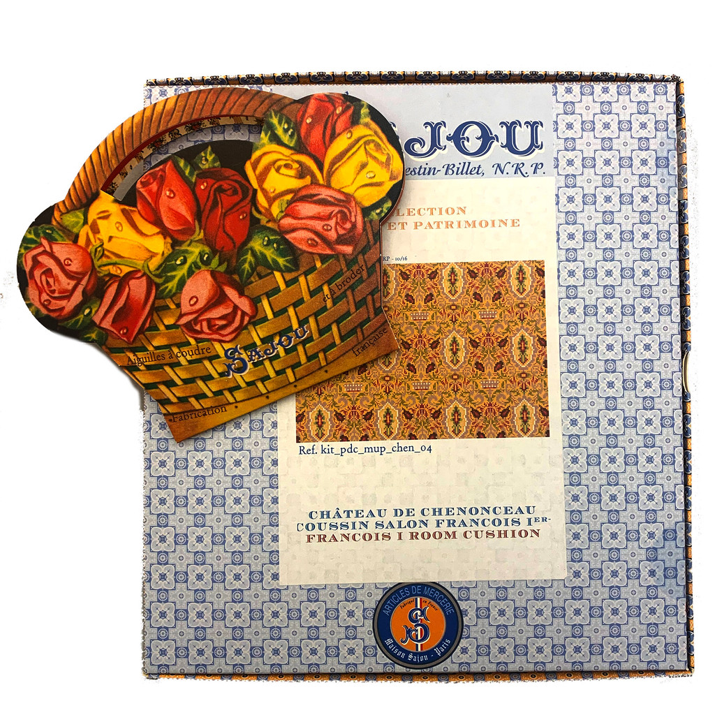 Francois 1 Pillow Kit with 40 Needle Book