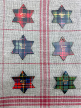 Fecamp Thread Cards - Tartan Motifs