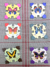 Honfleur Thread Cards - Butterflies