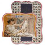 Vintage Needle Folding Card - Cameret (Textile Allegory)