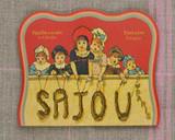 Vintage Needle Folding Card - Plomeur