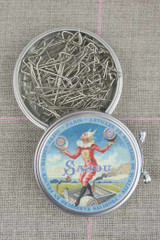Metal Tins with T-pins