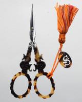 "Tortoiseshell Scissor with ""S"" motif"
