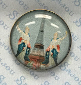Set of Six Sajou Character Buttons