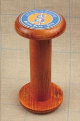 Large Wooden Waxing Bobbin