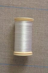 Silk Thread Spool - White