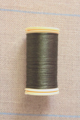 Silk Thread Spool - Olive