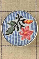 Sajou Cross Stitch Kit - Dampierre Toile de Jouy Pattern - Box to Embroider
