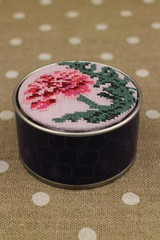 Sajou Cross Stitch Kit - Carnation - Box to Embroider